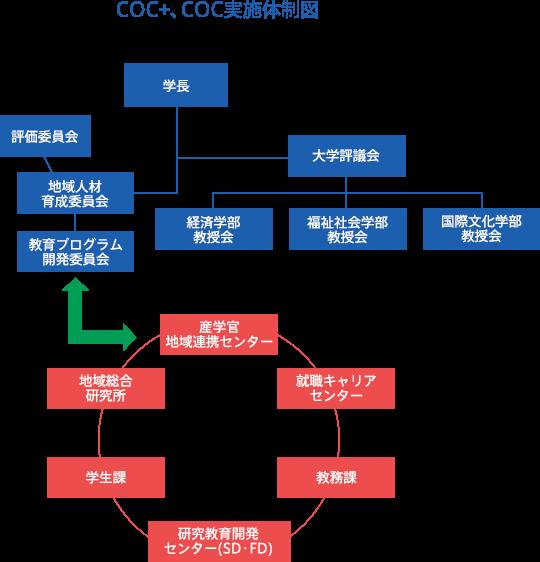 COC+、COCO実施体制図